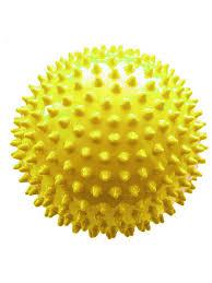 <b>массажер альпина пласт</b> мяч овальный дикий огурец мини yellow ...