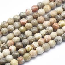 China Factory <b>Natural Chrysanthemum Stone Beads</b> Strands ...