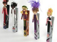 11 Best Clip dolls images | Clip dolls, Clothes pin crafts, Clothes pins