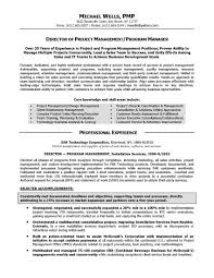 project management resume examples management objective  resume    resume design
