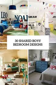 cheap kids bedroom ideas:  awesome shared boys room designs to try