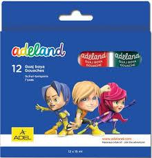 <b>Adel ADELAND 12 цветов</b> 15мл. (234-0612-100) характеристики ...