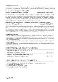 resumes for it professionals free sample   essay and resumeresumes for it professionals   educaion history and certifications and professional qualifications resume sample for free