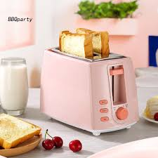 【BBQ.CFDQ】<b>2</b>-Slice Double-sided Electric Bread <b>Toaster Home</b> ...