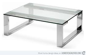 15 Awesome Designs of Stainless Steel Rectangular <b>Coffee Tables</b> ...