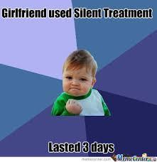 Silent Treatment by reff99 - Meme Center via Relatably.com