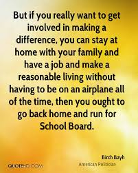 birch bayh quotes quotehd but if you really want to get involved in making a difference you can stay