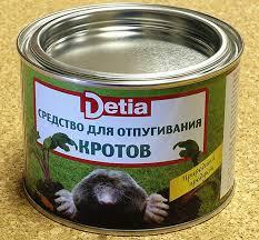 Натуральное <b>средство</b> для отпугивания <b>кротов Detia</b> в Москве ...