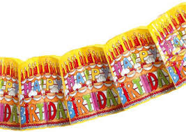 Susy Card <b>Гирлянда</b> детская <b>Happy</b> Birthday — купить в интернет ...