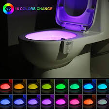 <b>Toilet</b> Night Light <b>Motion Sensor</b>, LED 16 Color Change <b>Automatic</b> ...