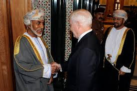 u s department of defense photo essay i sultan qaboos greets u s defense secretary robert m gates at the bait al baraka
