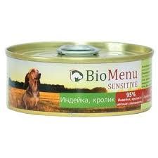 Корм для собак <b>BioMenu Sensitive консервы</b> для собак с ...