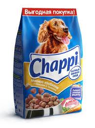 "<b>Сухой корм</b> для собак <b>Chappi</b> ""Сытный мясной обед"", Мясное ..."