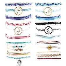 Amazon.com: Exweup <b>Summer</b> Wave Beach Bracelet Women Boho ...