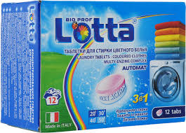 "<b>Таблетки для стирки цветного</b> белья ""<b>Lotta</b>"", 12 шт — купить в ..."