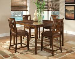 tables square counter height dining set