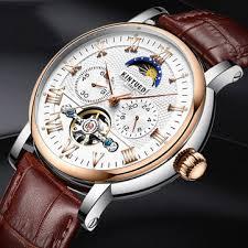 <b>kinyued</b> jyd-j029 moon phase <b>automatic mechanical watch</b> at ...