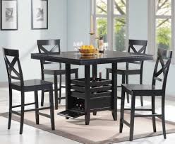 size dining room contemporary counter: country black counter height dining room set  piece of square pedestal dining table with