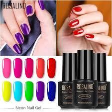 ROSALIND <b>7ml Gel Polish</b> Nail Art Gel Nail Gel Set For Manicure ...