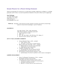 resume  sample resume of high school graduate  moresume cosamples work experience high school graduate