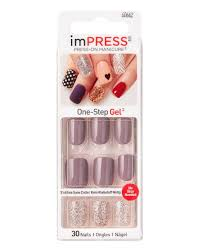 BROADWAY IMPRESS PRESS-ON MANICURE Твердый лак ...