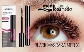 Medipharma Cosmetics Black Mascara Med XL ... - Amazon.com