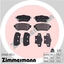 Zimmermann Brake pads <b>for RENAULT KADJAR</b> (HA_, HL_) rear ...