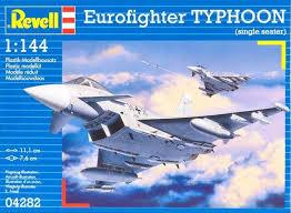 <b>Revell</b> Сборная модель Многоцелевой <b>истребитель</b> Eurofighter ...