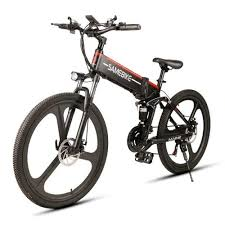 <b>SAMEBIKE</b> LO26 350W Motor Folding Electric Bike <b>48V</b> 10AH ...