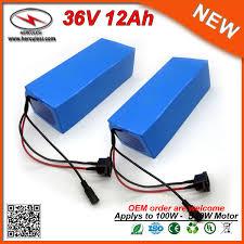 PVC case 36v battery <b>pack 12Ah</b> 36v lithium <b>electric</b> bike battery ...