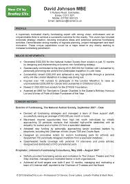 example of written resume template example of written resume