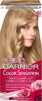 Garnier Color Sensation <b>Стойкая крем-краска для</b> волос Роскошь ...