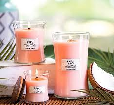 WoodWick Hourglass Candle <b>Coastal Sunset</b> - <b>Ароматическая</b> ...