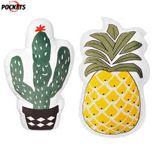 PS Cute fruit pineapple <b>cactus</b> sofa pillow cushion <b>toy</b> @ | Shopee ...