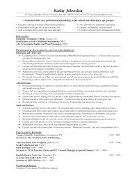 resume for preschool teacher perfect resume  resume