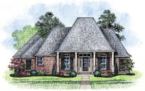 Southern Louisiana House Plans   house plans Kabel House Plans    Gardere   Southern Louisiana Style House Plan