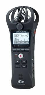 <b>Zoom H1n</b> Portable Handy Recorder with Microphone - <b>Black</b> for ...
