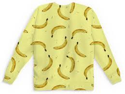 <b>Детский свитшот унисекс</b> Бананы на желтом #2828449 в Москве ...
