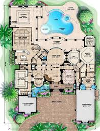 Tuscany II Mediterranean House Plan    ALP  CC   Chatham Design    Floor Plans for House Plan  ALP  CC