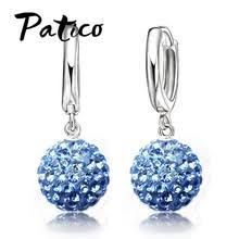 Best value <b>925 Sterling</b> Silver Round Ball Earing – Great deals on ...