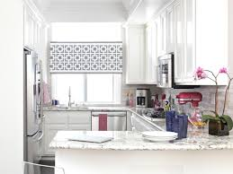 white kitchen windowed partition wall: images of window treatment shades home decoration ideas images of window treatment shades home decoration ideas kitchen