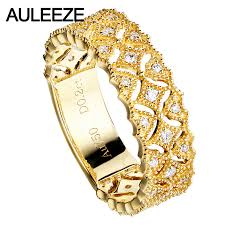 fine jewelry diamond pendant 18k yellow gold natural excellent quality women fashion for wedding