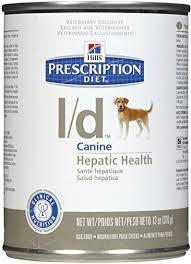 <b>Hill's Prescription Diet l/d</b> Hepatic Health Dog Food (12 13-oz cans ...