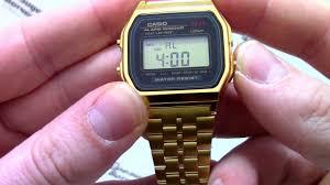 <b>Часы Casio</b> Illuminator A159WGEA-1D - Инструкция, как ...