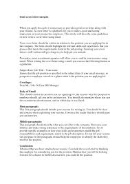 cover letter email cover letter layout cover letter layout for cover letter cover letter email cover examples review the following there are many specific a well