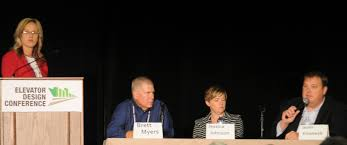 grain journal elevator design conference attracts over  a panel focusing on attracting retaining and training good employees featured seated from left brett myers director of human resources and development