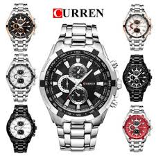 Waterproofing of <b>men's</b> stainless steel quartz watch with business ...