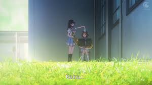 reina s loneliness minute art she s selfish but since kumiko is now the key to reina dealing her loneliness she begins to change she brings kumiko a water bottle showing she is