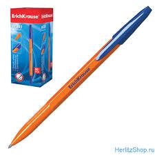 "<b>Ручка</b> шариковая <b>Erich Krause</b>, ""R-301"", корпус оранжевый, толщ ..."
