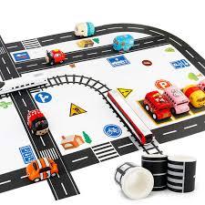 Online Shop 9pcs/set <b>Traffic Railway Road</b> Washi Tape Sticker ...